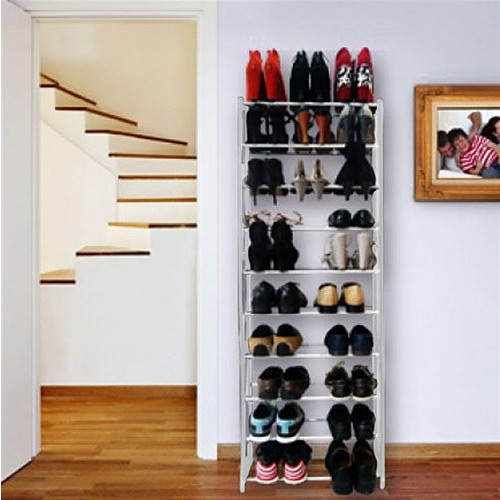 rangement etagere chaussures. Black Bedroom Furniture Sets. Home Design Ideas