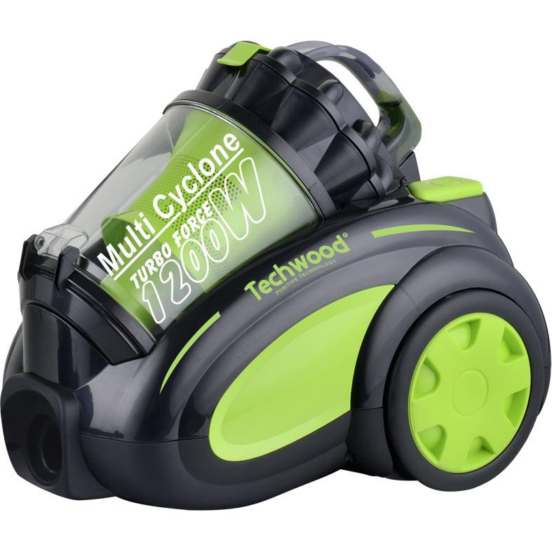 Aspirateur sans sac eco 1200w techwood - Sac plastique aspirateur ...